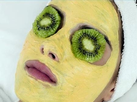 ماسک کیوی , مضرات ماسک کیوی در حساسیت به کیوی , ماسک کیوی برای پوست