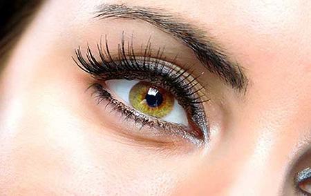 انتخاب لنز بر اساس رنگ پوست و مو