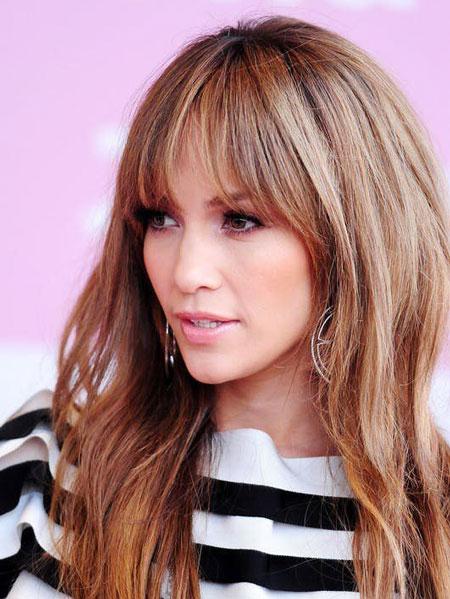 آرایش موهای کم پشت,مدل مو برای موهای کم پشت,مدل موی چتری