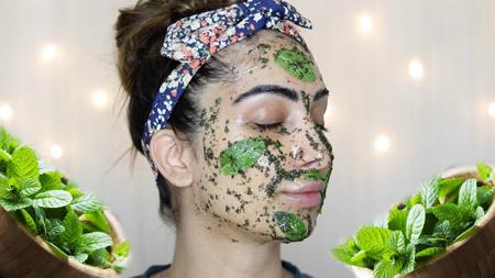 mint mask rejuvenation 2 ماسک نعنا برای زیبایی و جوانسازی پوست