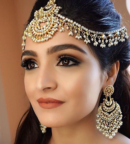 آرایش هندی،مدل آرایش هندی،آموزش آرایش هندی