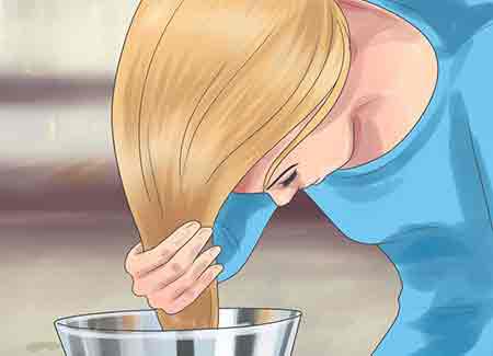 پاک کردن حنا,نحوه ی پاک کردن حنا از روی مو,رنگ کردن موها با حنا