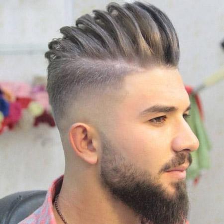 سایه مو مردانه,کوتاهی سایه مو مردانه ,سایه کاری موی مردانه
