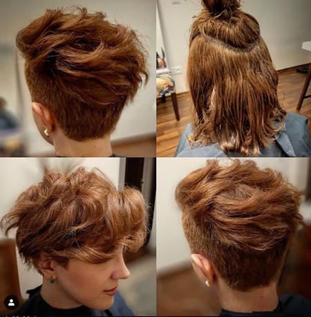 مدل کوتاهی مو بلند ,انواع مدل کوتاهی مو , عکس مدل کوتاهی مو