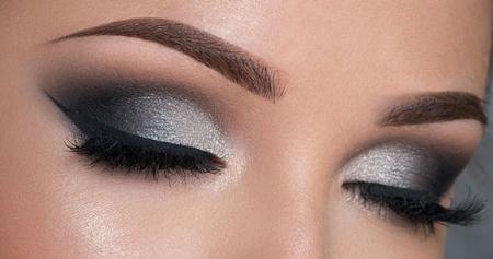 آرایش چشم دودی, آرایش چشم, آرایش چشم دودی زیبا