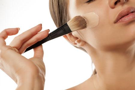 عکس   آموزش آرایش صورت برای خانمها (خود آرایی)