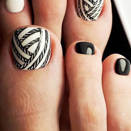 تصاویر ناخن پا,مدل دیزاین ناخن پا,ناخن پا