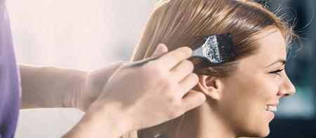 روشن کردن مو با اکسیدان خالی, اکسیدان خالی روی مو