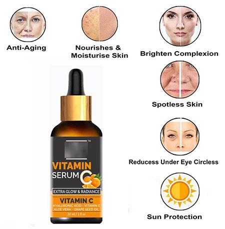 سرم ویتامین سی, سرم ویتامین C برای پوست, پیشگیری از پیری زودرس با سرم ویتامین c