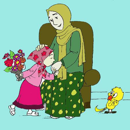 نقاشی روز مادر,نقاشی تقدیم به مادر,نقاشی روز مادر برای کودکان