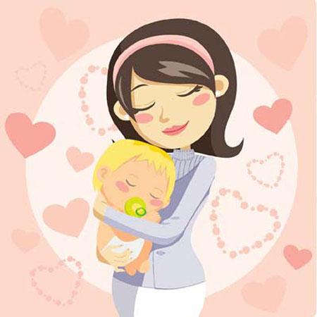 نقاشی روز مادر,نمونه نقاشی روز مادر,نقاشی کودکانه روز مادر