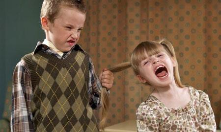 رفتار با کودک خشمگین