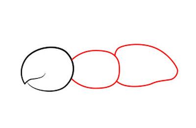 کشیدن نقاشی مورچه,نقاشی مورچه,آموزش کشیدن نقاشی مورچه