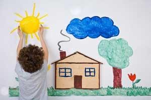 نقاشی کودکتان را تحلیل کنید تا به دنیای درونیش برسید !
