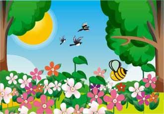 شعر بهار,شعر کودکانه