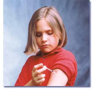 مرض قند در كودكان
