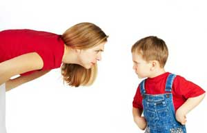 حفظ آرامش در هنگام برخورد با فرزند؟