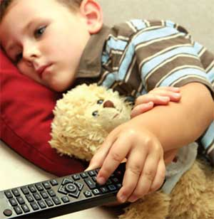 تلویزیون,تلویزیون و کودکان,کودک و تلویزیون