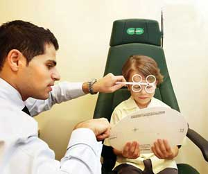 تنبلی چشم, درمان تنبلی چشم, تنبلی چشم در کودکان