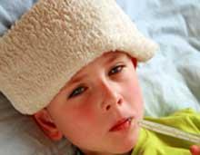 نشانههای آنفلوآنزا در کودکان,آنفلوآنزا در کودکان