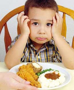کودک بد غذا,بد غذایی در کودکان,تغذیه کودک