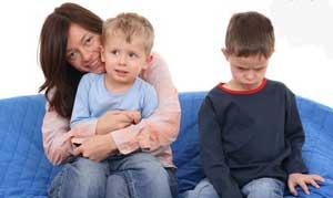 کودک حسود,برخورد با کودک حسود,رفتار با کودک حسود