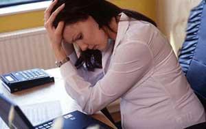 کاهش استرس در دوران بارداري