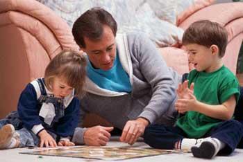 بازیهای ساده در خانه