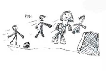 نقاشیهای کودکان,نقاشی کردن کودک