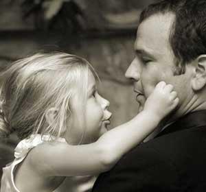 رفتار با کودک, رابطه دختر و پدر, پسر و پدر