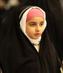 حجاب,آموزش حجاب به دختران