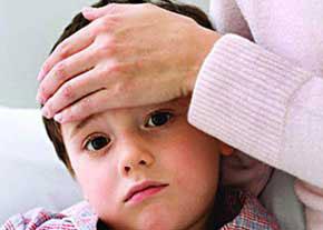 تب کودک,پیشگیری از تب کودک,تب کردن کودک