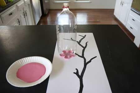 درخت پاییزی,نقاشی درخت پاییزی