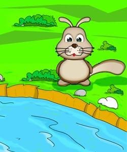 داستان خرگوش دم دراز و روباه حیله گر,داستان خرگوش دم دراز,داستان کودکانه