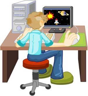 فعالیت های اینترنتی کودکان