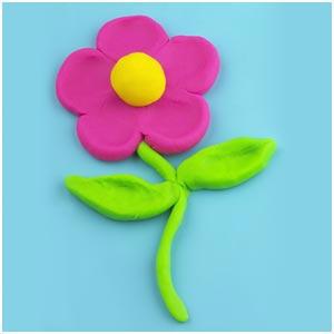 آموزش ساخت گل با خمیر