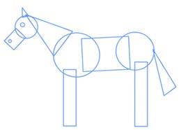 ba2256 4 آموزش نقاشی اسب