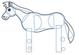 ba2256 5 آموزش نقاشی اسب