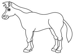 ba2256 8 آموزش نقاشی اسب