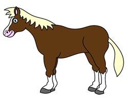 اسب,کشیدن نقاشی اسب,اسب کارتونی