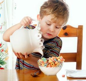 غذای صبحانه کودک