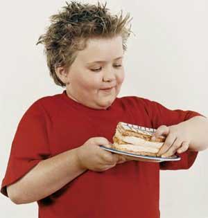 بچه هاي چاق,چاقي در كودكان,كودكن چاق,علت چاقي در كودكان