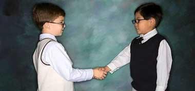 ba2859 رفتار پسندیده کودکان در مقابل دیگران