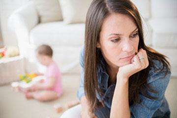 افسردگی پس از زایمان, علت افسردگی پس از زایمان, درمان افسردگی پس از زایمان