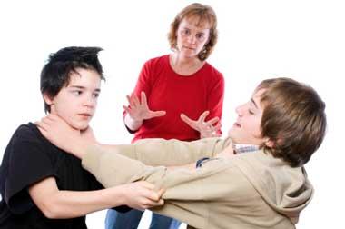 دعوا کردن, دعوا کردن کودکان, علت  دعوا کردن کودکان, دعوای بچه ها