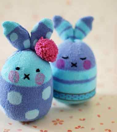 کاردستی,کاردستی خرگوش,کاردستی برای کودکان