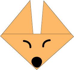 کاردستی روباه,کاردستی با کاغذ