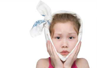 درمان خانگی دندان درد کودک,کاهش دندان درد کودک