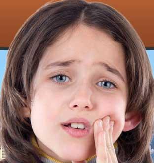 کاهش دندان درد کودک,دندان در آوردن کودک