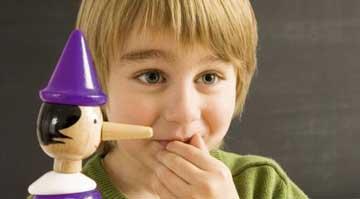 علت دروغ گویی کودکان